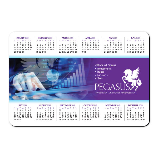 Calendar Magnet - Single Sided