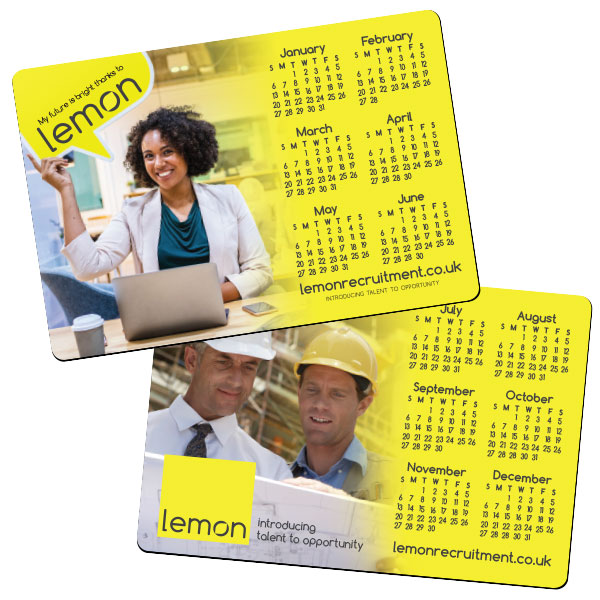 Calendar Magnet - Double sided