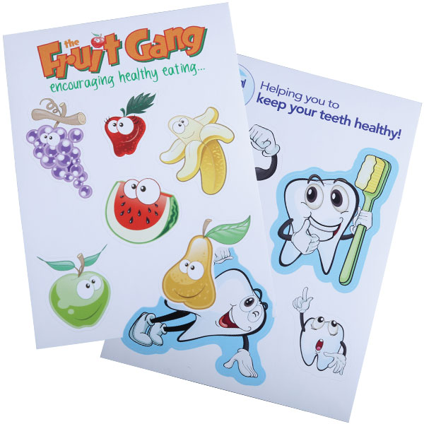 Vinyl Sticker Sheets