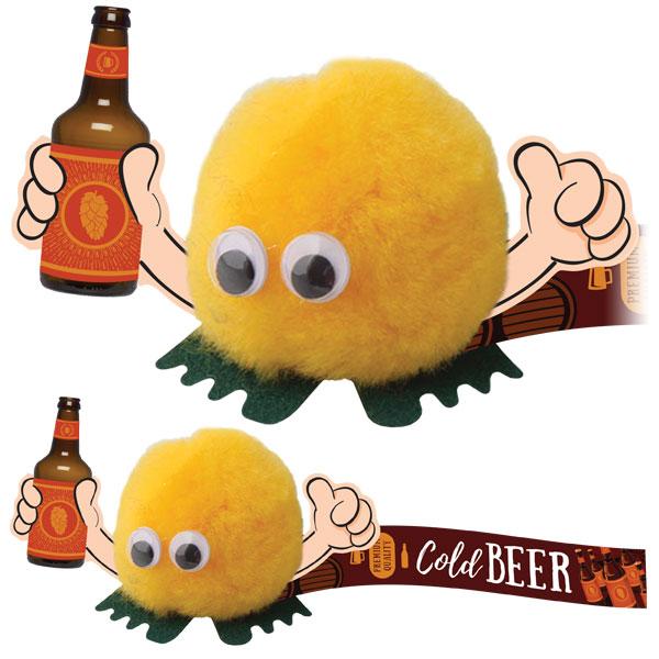Beer Bottle Handholder - (B)