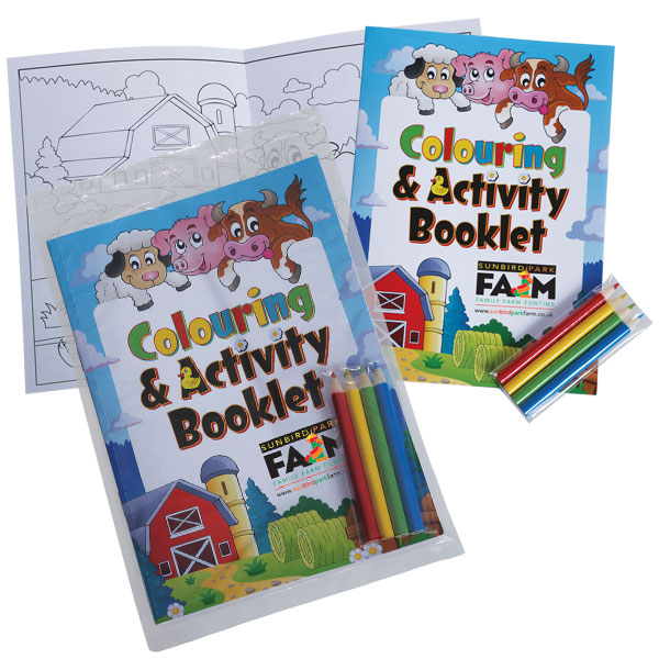 Colouring Book & Pencil Pack