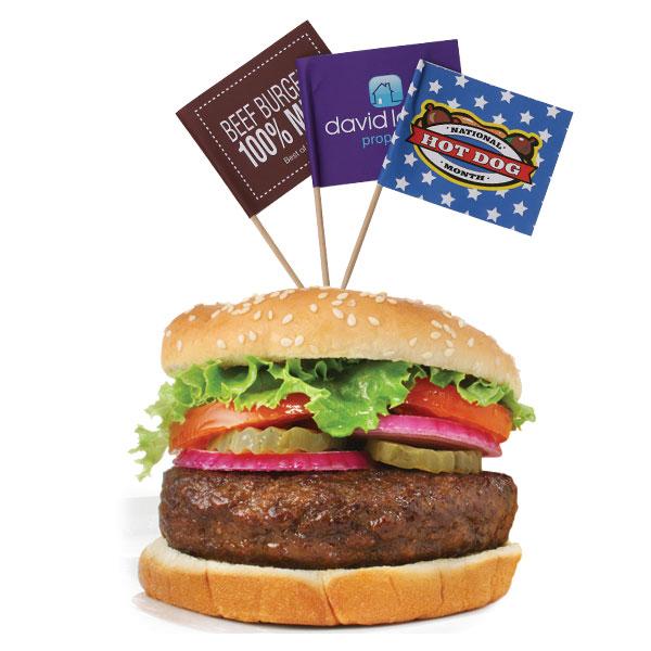 Food Pick Flags