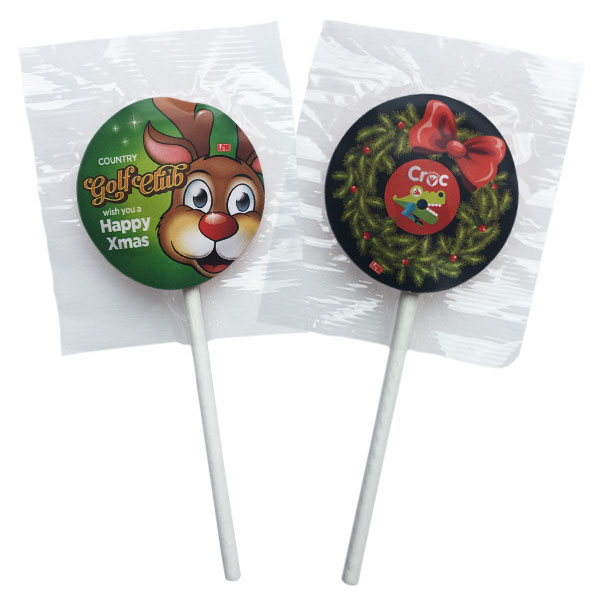 Festive Lollipops