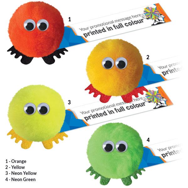 Acrylic Pom Pom Colours