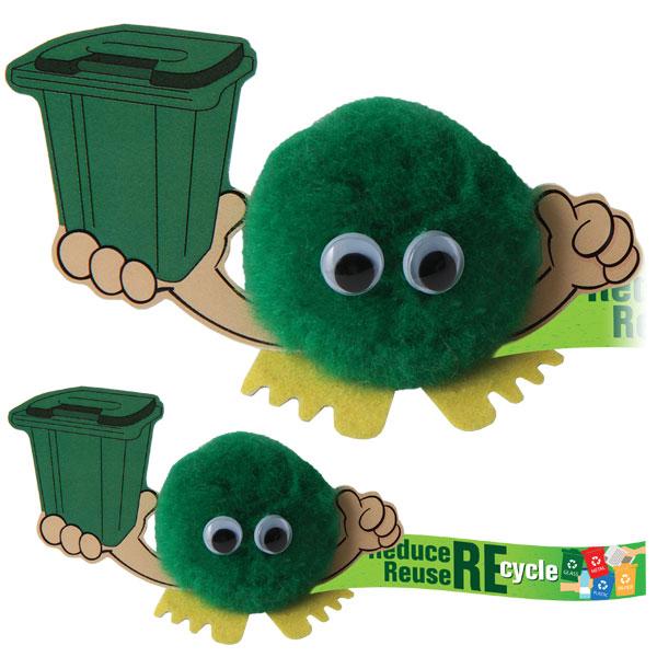 Recycling Bin Handholder - (B)