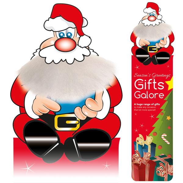 Adman Santa Bookmark
