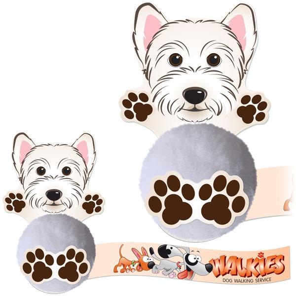 Promo-Pals Scottie Dog (Westie) - (B)