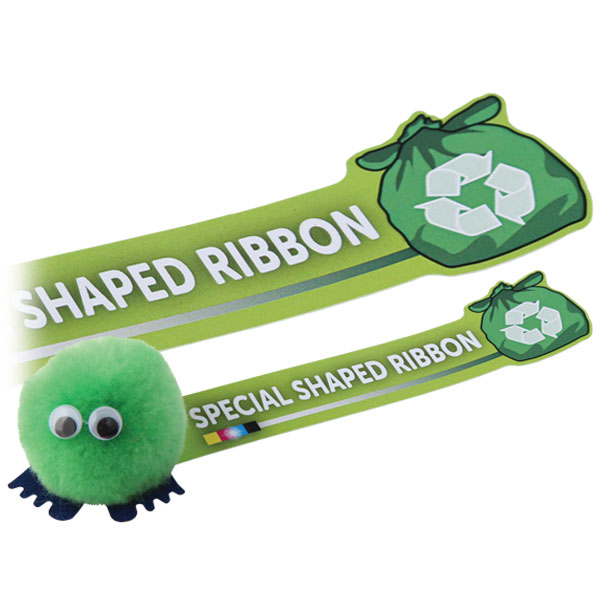 Shape Cut Ribbon Logobugs