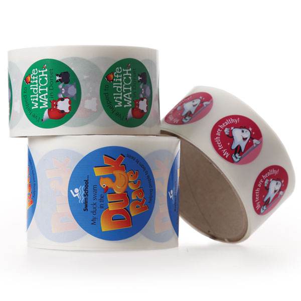Stickers on Rolls