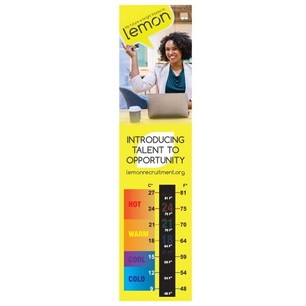 Temperature Gauge Bookmark