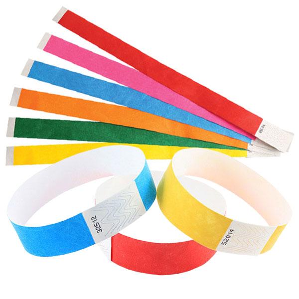 Tyvek 19mm Wristbands