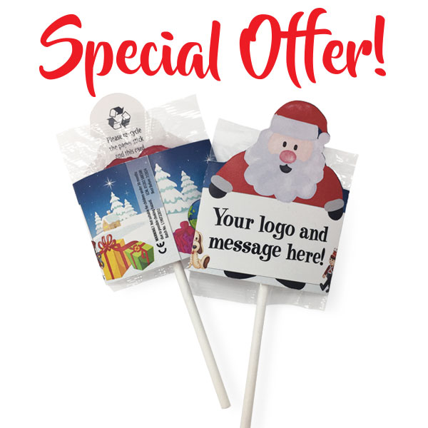 SANTA LOLLIPOP - BUY-ONE-GET-ONE-FREE