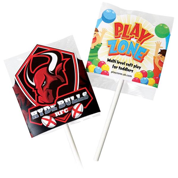 Shaped Lollipop Wrap