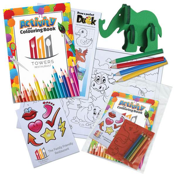 Colouring Activity Pack