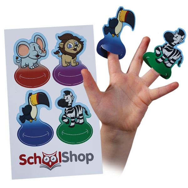 Finger Puppet Cards