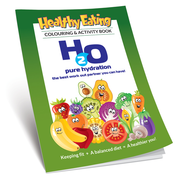 Healthy Eating Colouring Book