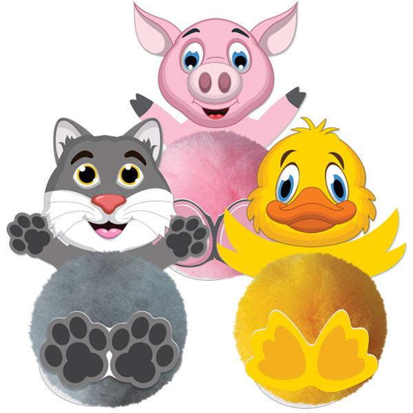 Card Head Animals
