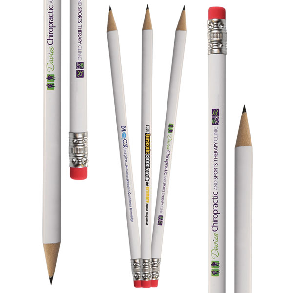 Pencils with Eraser Tips