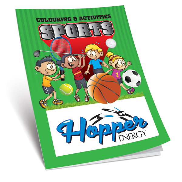 Sports Colouring Book