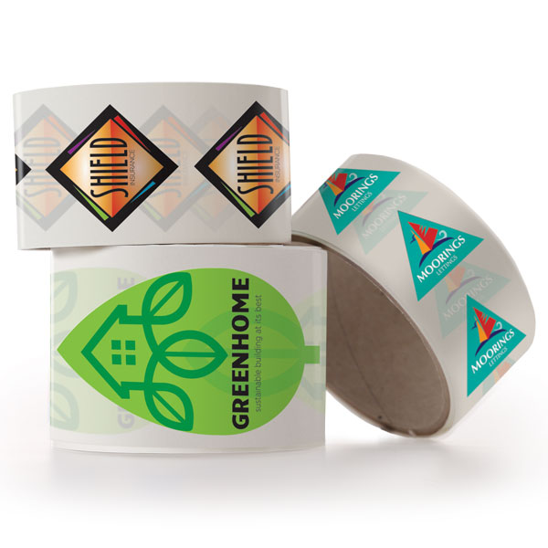 Paper Stickers on Rolls