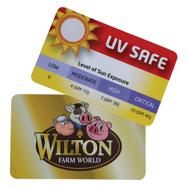 UV Sun Gauge Card